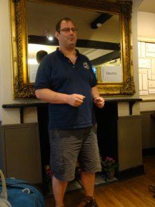 Third speaker Christopher